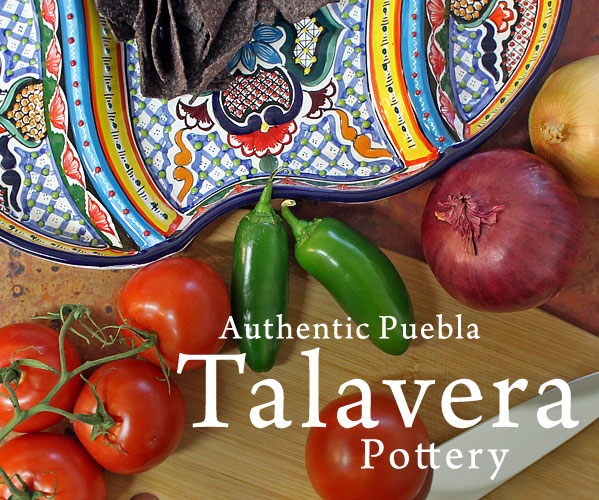 Authentic Puebla Talavera Pottery