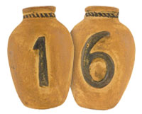 Clay House Numbers