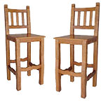 Southwest Rustic Bar Stools