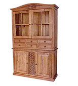 Southwest Rustic Cupboards