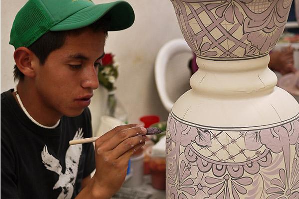 Mexican Talavera Pottery Vases Jars Bowls Crosses Sinks