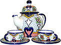 Talavera Coffee Sets