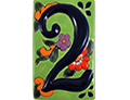 Talavera House Numbers