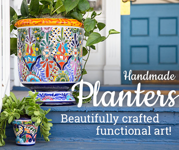 Planters - Beautifully crafted functional art!