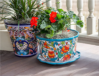 Talavera Planters - TP180 and TCTP228