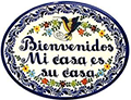 Talavera Welcome Plaques