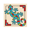 Tile Coaster - Southwest Gecko