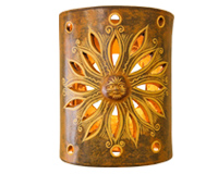 Clay Wall Sconces
