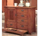 Mission Oak Butler Chest