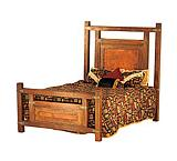 Wyoming Bed w/Copper Panels