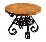 Round Esperanza End Table