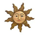 Small Carved Sun