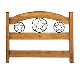 Queen Iron Star Headboard