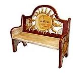 Maroon Eclipse Bench