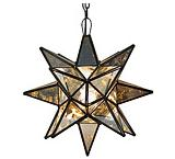 Antiqued Glass Star