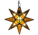 Amber Glass Star