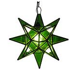 Green Glass Star