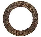 Round Engraved Mirror