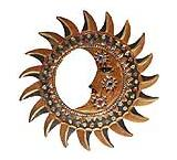 Bronze Eclipse Mirror