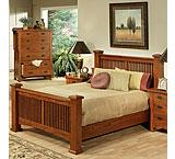 Heartland Oak Classic Slat Bed