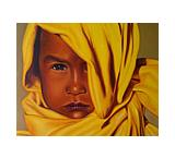 Sol Naciente Oil Painting on Canvas