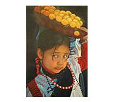 Vivianita Color Oil Painting on Canvas