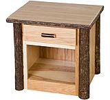 Hickory 1 Drawer Nightstand