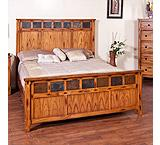 Rustic Oak Sedona Bedroom Suite