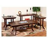 Santa FeSlate Top Tables w/Shelves