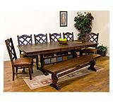 Santa Fe Trestle Extension Table