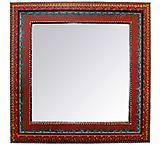 Square Agave Mirror
