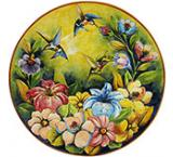 XL Hummingbird Plate