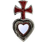 Cross Heart Mirror