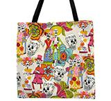 Skeletons White Tote Bag