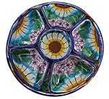 Talavera Snack Tray Set