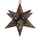 Cancun Star w/Marbles:Oxidized Finish