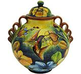 Hummingbird Small Ginger Jar
