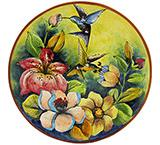 Medium Hummingbird Plate