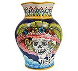 Day of the Dead Water Pitcher