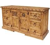 Mansion Star Dresser w/Rope Edge