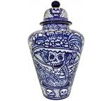Day of the Dead XL Ginger Jar