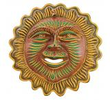 Clay Mask: Smiling Sun
