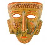 Clay Mask: Shaman w/ Sun & Moon