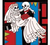 Day of the Dead Ceramic Tile
