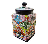 Talavera Kitchen Canister