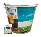 Find Your Beach Corona Beer Bucket