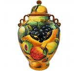 Assorted Fruit  Large Ginger Jar
