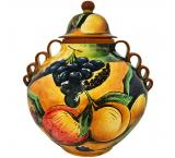 Assorted Fruit Small Ginger Jar