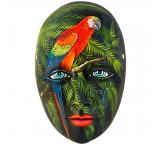 Red Macaw Mask