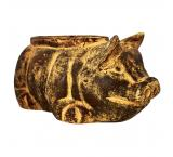 Wallowing Pig Planter